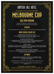Hunters Hill Melbourne Cup $65